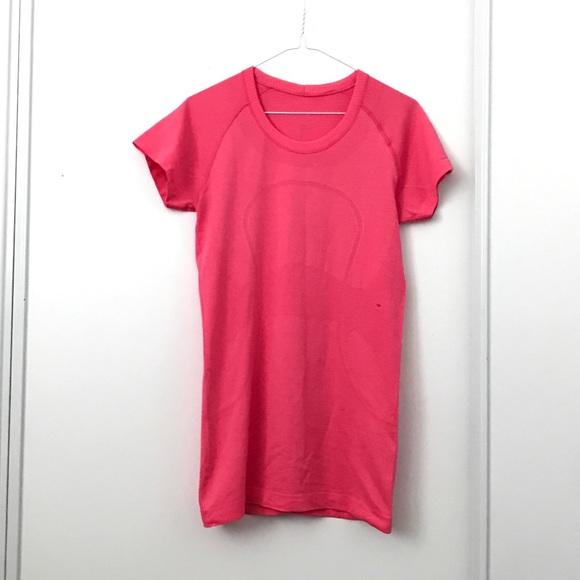 Lululemon Pink Swiftly Tech Short Sleeve Top